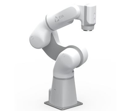 A robotic arm built by automation specialists, Infinity Project Designs.